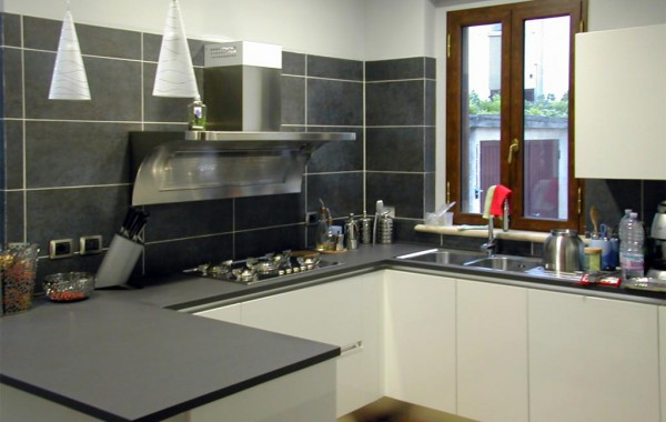 Piano Cucina in quarzo (Quarella)