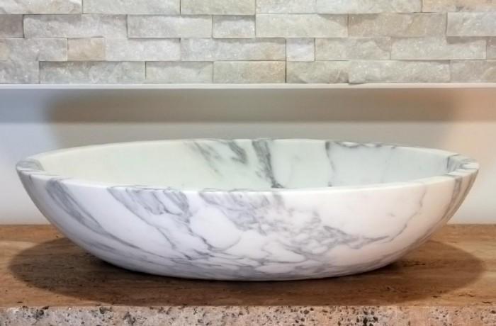 Lavello 1 in marmo di Carrara